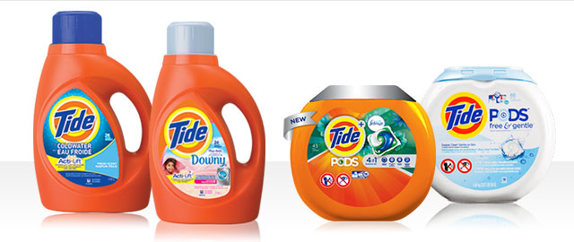 Select Tide® products coupon