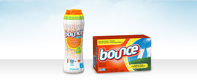 Bounce® Dryer Sheets or Bounce® BURSTS™ coupon
