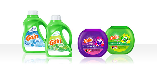 Gain® Laundry Detergent coupon
