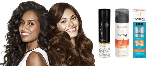 Pantene® Styling and Treatment products coupon