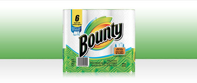Bounty® products coupon