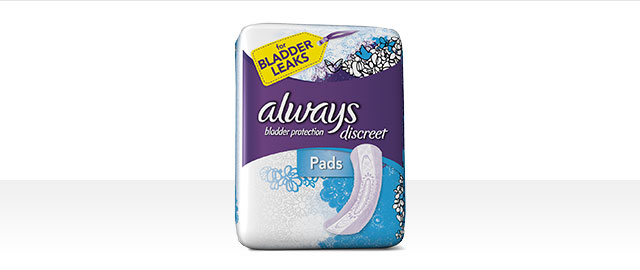 Serviettes Always® Discreet coupon