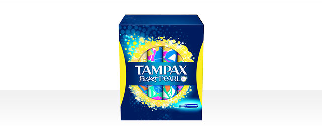 Tampax® Pearl Pocket™ Collection products coupon