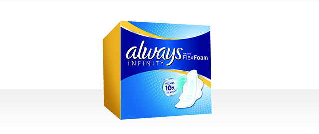 Always® Infinity Collection products coupon