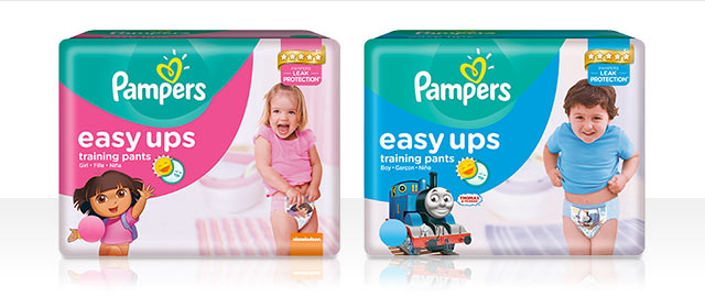 Pampers® Easy Ups coupon