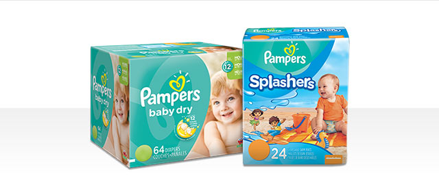 Pampers® Baby Dry or Splashers coupon