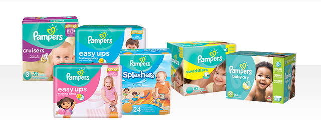 Pampers® Diapers coupon