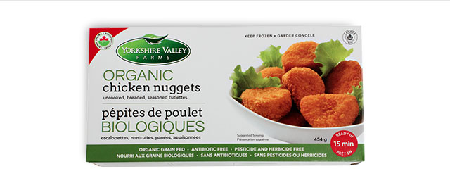 UNLOCKED! Yorkshire Valley Farms Frozen Organic Chicken Nuggets coupon