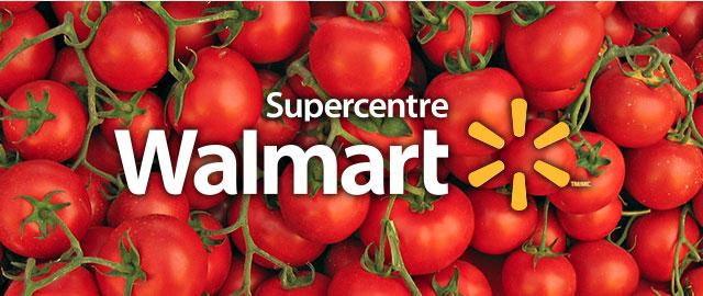 Chez Walmart: Tomates coupon