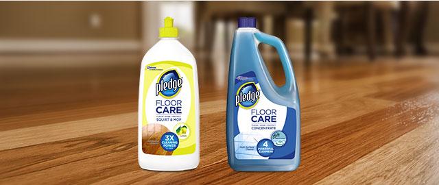 Pledge® FloorCare Product coupon