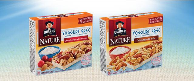 Barres tendres Quaker® nature  coupon