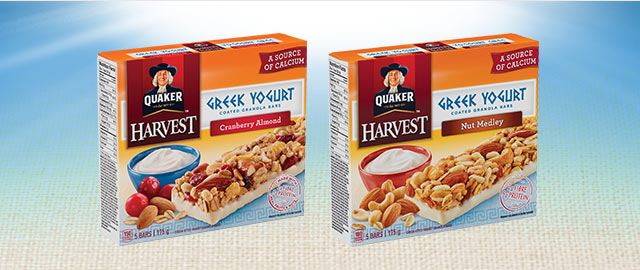 Buy 2: Quaker® Harvest Granola Bars coupon