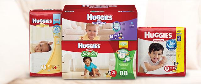 Achetez 2: Certaines couches de Huggies®  coupon