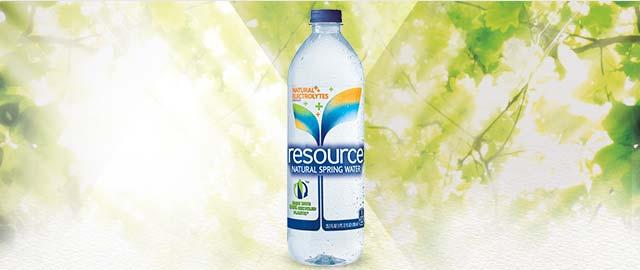 UNLOCKED! resource® Natural Spring water coupon