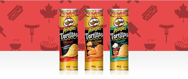 Achetez 2: Croustilles Pringles* Tortillas coupon