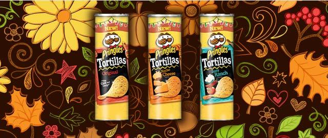 Buy 2: Pringles Tortilla Chips  coupon
