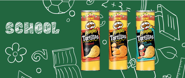 Buy 2: Pringles* Tortilla Chips  coupon