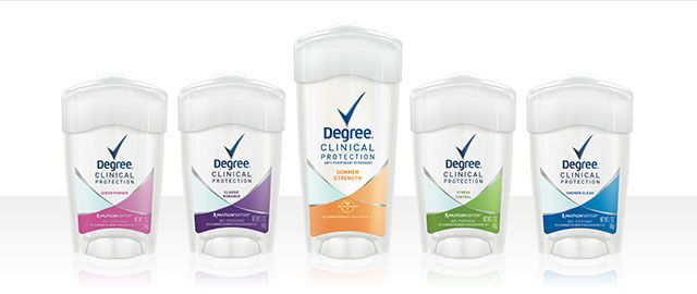 At Walmart: Degree Women Clinical Protection Antiperspirant  coupon