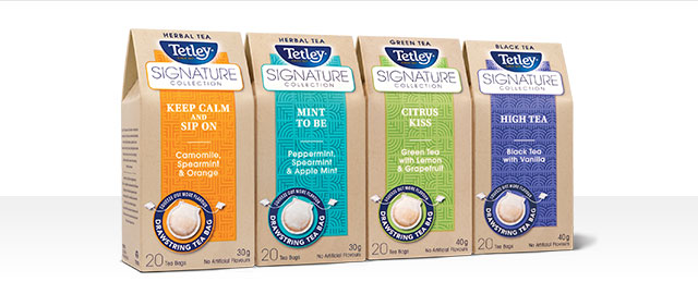 Tetley Signature Collection Tea coupon