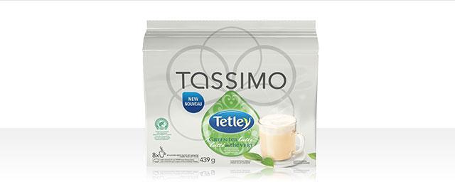 Tetley Tassimo Green Tea Latte coupon
