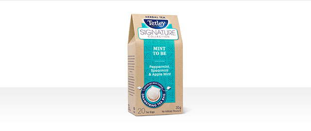 Tetley Signature Collection Mint to Be tea coupon
