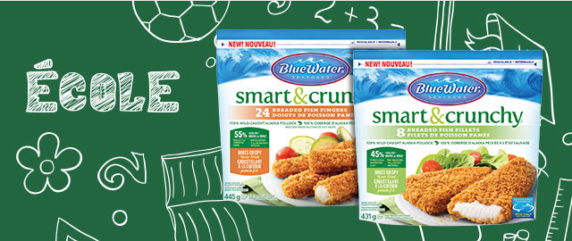Poisson Smart & Crunchy BlueWater Seafoods  coupon
