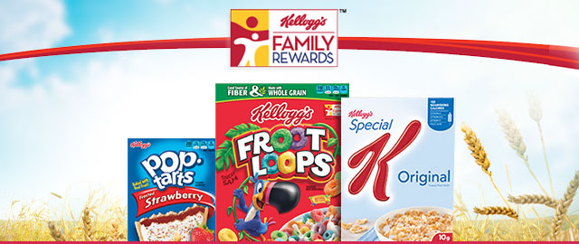 Kellogg's Family Rewards  coupon