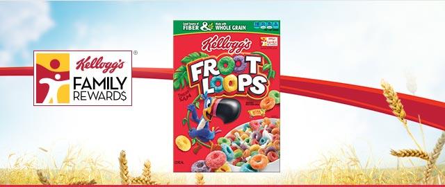 Buy 2: Kellogg's® Froot Loops® coupon