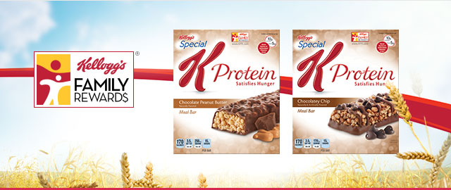 Kellogg's® Special K Protein™ Meal Bars coupon