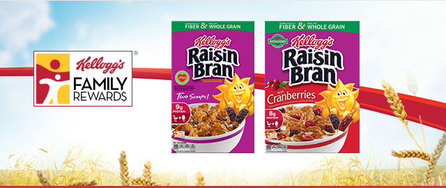 Buy 2: Kellogg's® Raisin Bran® Cereals coupon