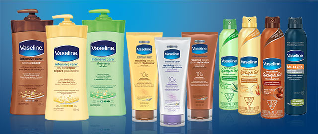 Vaseline® Lotion, Spray Moisturizer or Serum coupon