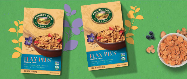 Buy 2: Flax Plus® Multibran Flake Cereals coupon