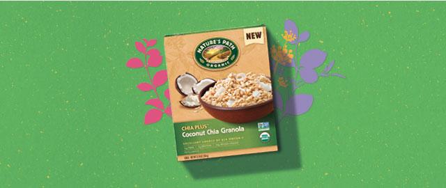 Nature's Path Chia Plus™ Coconut Chia Granola coupon