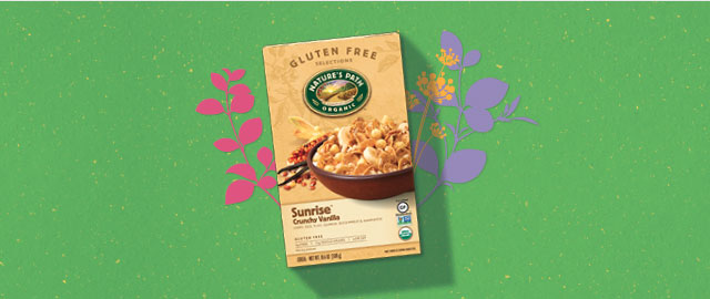 Nature's Path Sunrise® Crunchy Vanilla Cereal coupon