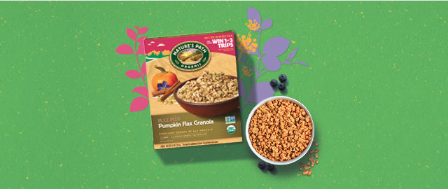 Nature's Path Flax Plus® Pumpkin Flax Granola coupon