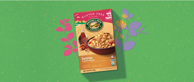 Nature's Path Sunrise® Crunchy Maple Cereal coupon