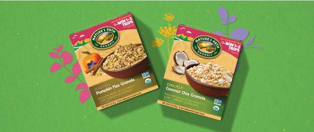 Buy 2: Select Nature's Path® Granola and Cereal products coupon