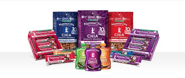 Mamma Chia snacks coupon