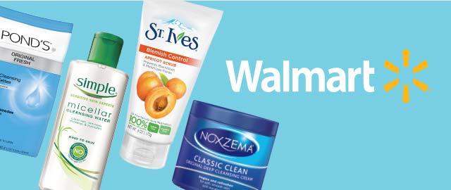 Enjoy great savings on top skin care brands at Walmart! coupon
