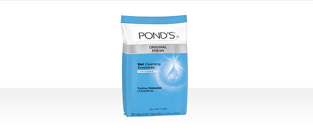 At Walmart: Pond's Original Fresh Wet Cleansing Towelettes coupon