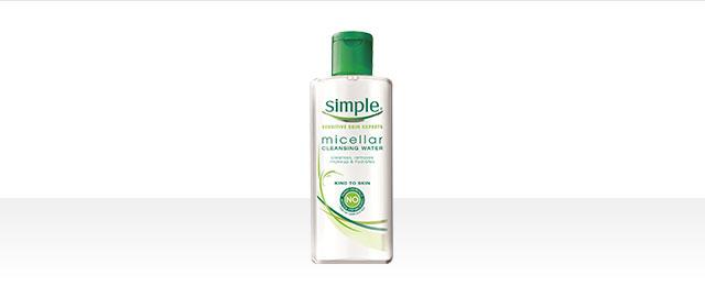 At Walmart: Simple Cleansing Micellar Water coupon