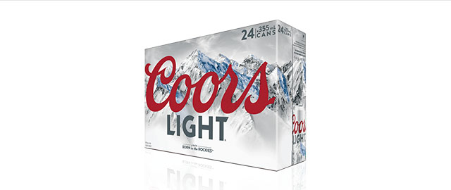 Coors Light 24 x 355mL Cans* coupon