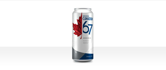 Buy 4: Molson Canadian 67® 473mL cans* coupon