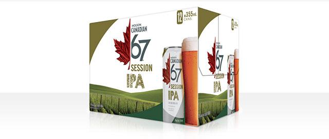 Molson Canadian 67 IPA 12 x 355mL* coupon