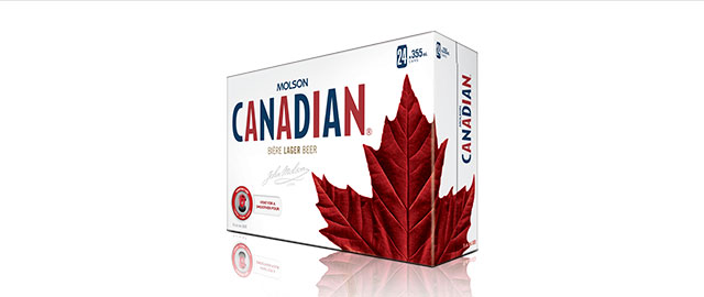 Molson Canadian 24 x 355mL Cans* coupon