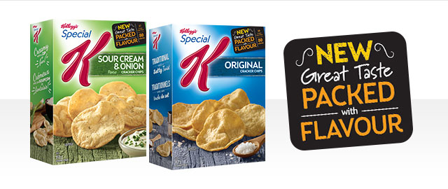 Buy 2: Special K* Cracker Chips coupon