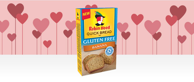 Robin Hood® Quick Bread Mix Gluten Free Banana Flavoured coupon