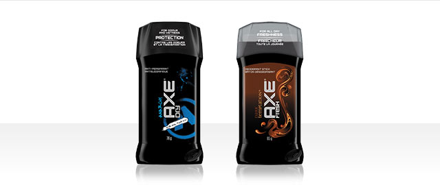 AXE deodorant or antiperspirant stick  coupon