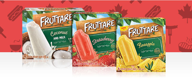 Fruttare® Frozen Fruit Bars coupon