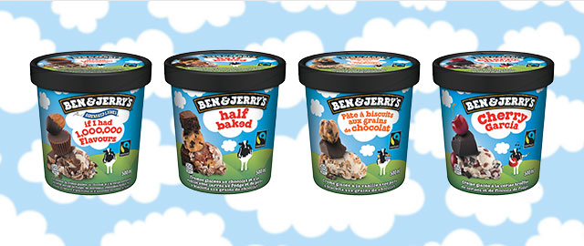 Select Ben & Jerry's ice cream coupon